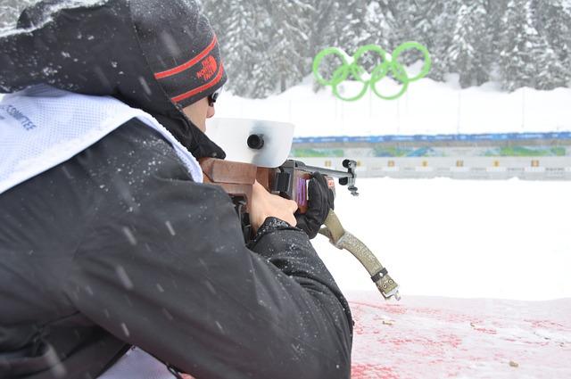 střelec na olympiádě