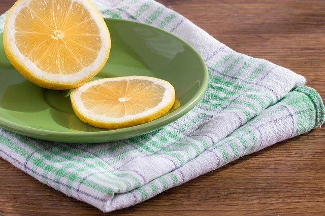 citron na talířku