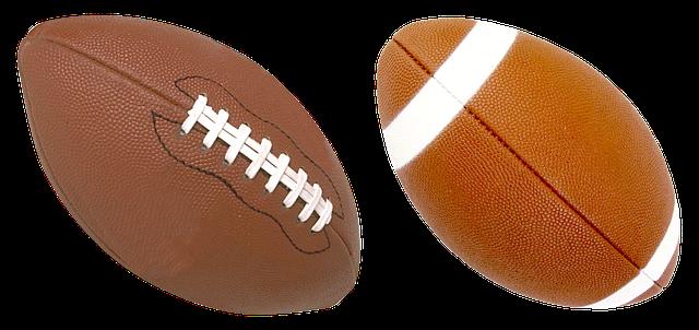 míče na ragby