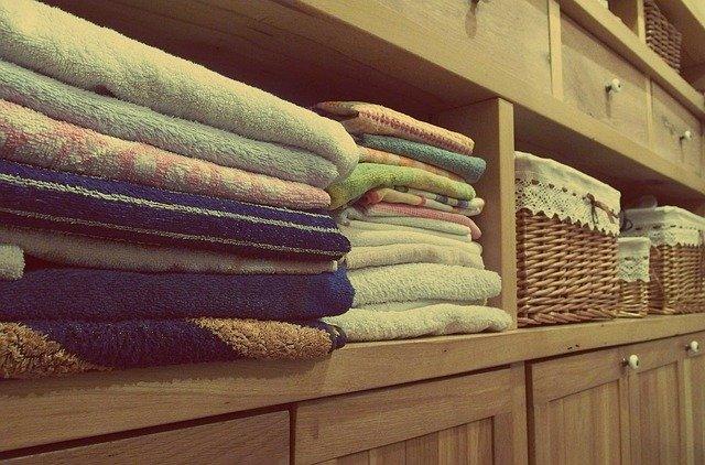 složené ručníky