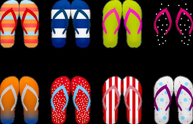 Módní letní obuv