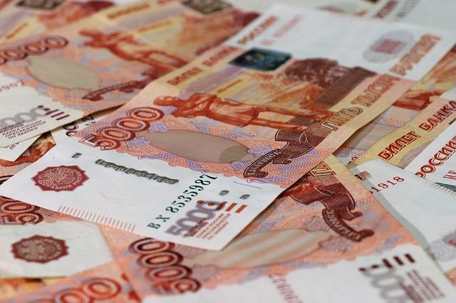 vysoké bankovky - rubly