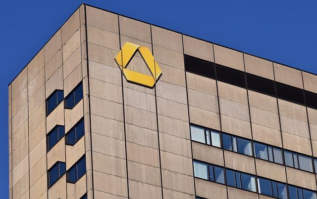výšková budova banky