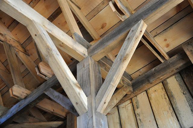 dřevo jako stavební materiál