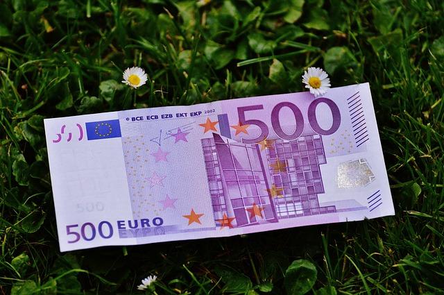 eurová bankovka