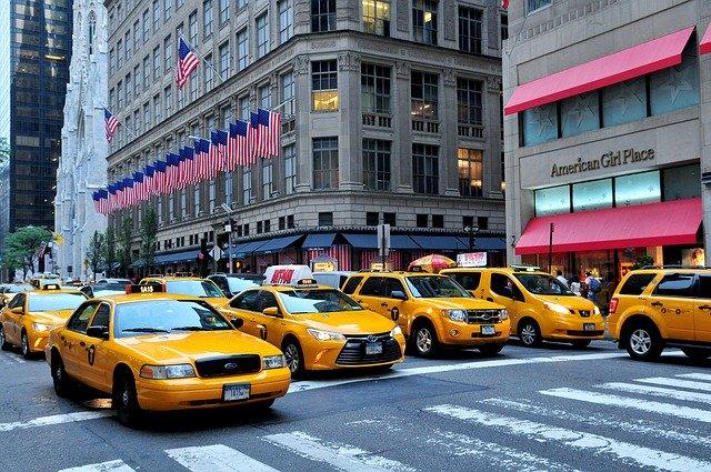 americké taxíky